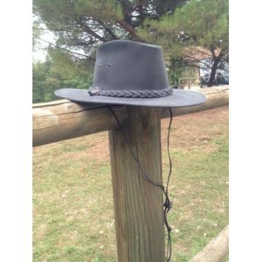 Chapeau à tresse - COMANCHEROS