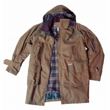 "Imperméable coton huilé ""Cossack jacket"" SCIPPIS"
