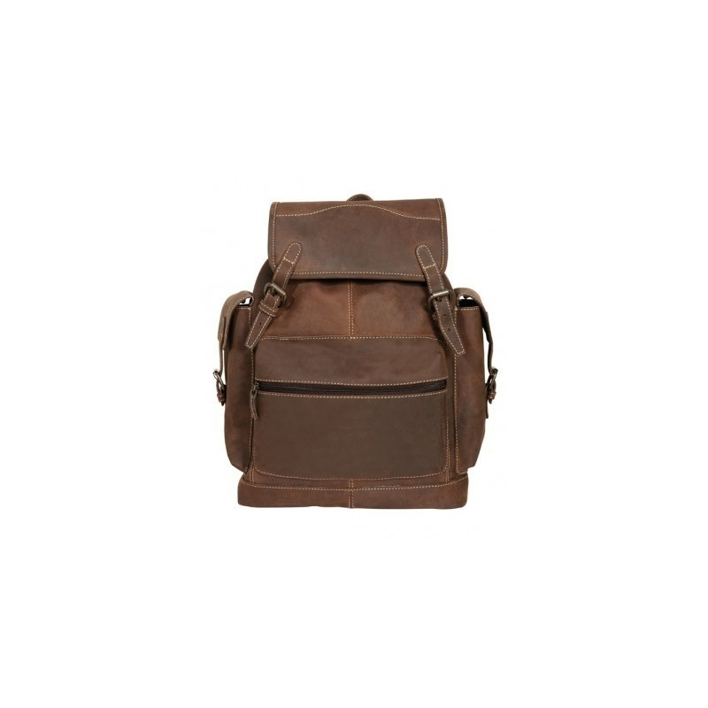 """Sac à dos cuir """"Backpack Buffalo"""" SCIPPIS"""