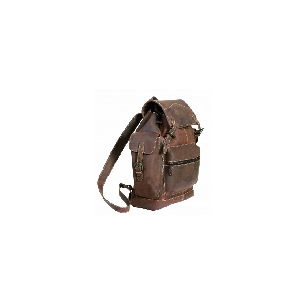 "Sac à dos cuir ""Backpack Buffalo"" SCIPPIS"
