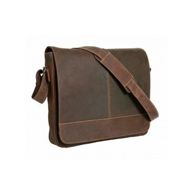 "Sac besace cuir ""messenger bag Columbia"" SCIPPIS"