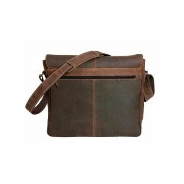 "Sac besace cuir ""messenger bag Columbia"" SCIPPIS"