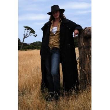 """Imperméable long coton huilé """"Longrider coat"""" SCIPPIS"""