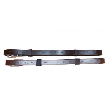 Etrivières cuir lisse - SB