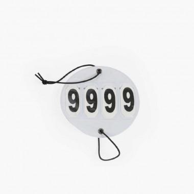 Porte numéros pour bridon - LAMI-CELL
