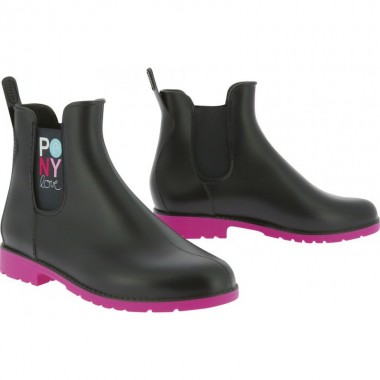 """Boots synthétique """"Pony love"""""""