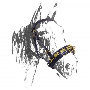 Caveçon en cuir - AMAHORSE